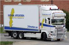 Svensk Spedition & Transport AB, Växjö certifierade mot ISO 9001 & ISO 14001