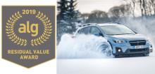 Subaru säilyttää arvonsa parhaiten