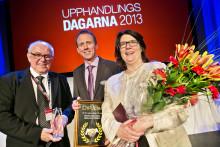 Landstinget Gävleborg vinnare av årets upphandling 2012