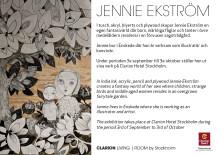 Jennie Ekström ställer ut på Clarion Hotel Stockholm