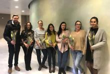 Sjuksköterskestudenter presenterade examensarbeten på NÄL