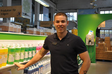 Felix Westerlin från StädgrossImporten vinnare i Clean Bright Awards