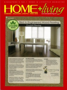 Evorich Flooring Awarded the Most Eco Friendly Award 2013 for the Best Engineered Flooring