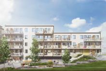 Starka har börjat leverera till Kvarteret Glasera i Gustavsberg