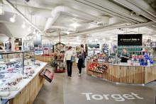 """Premiär för """"Torget"""" - en ny present- och matdestination  på Åhléns City Stockholm"""