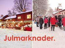 Julmarknader i Karlslund och Wadköping, Örebro