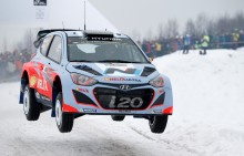 Hyundai presenterar laguppställningen inför Rally Sweden