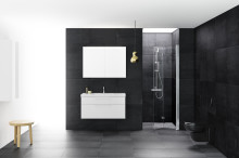 Nya duschväggserien SYNC från INR – perfekt för trånga badrum