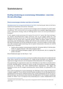 Kraftig minskning av evenemang i Almedalen - men inte för det offentliga