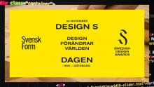 Design förändrar världen – välkommen på designstafett i Göteborg 22 november!