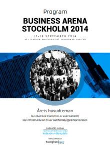 Anmäl dig till årets viktigaste mötesplats för den nordiska fastighetsbranschen