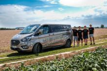 Von Linz in den hohen Norden: Vier Maturanten treten mit dem neuen Ford Tourneo Custom ein Abenteuer an