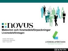 Livsmedelsföretagens undersökning om svenskarnas inställning till livsmedelsförpackningar