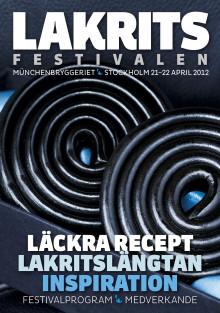 Festivaltidningen - Lakritsfestivalen 21-22 april 2012