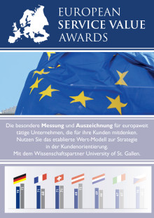 Infobroschüre European Service Value Awards (ESVA)