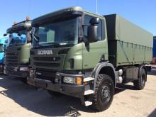 Scania udstiller off road-lastbiler hos Forsvaret