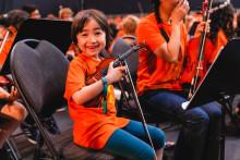 El Sistema firar 10 år med jubileumskonsert och uruppförande