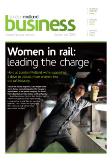 London Midland's September 2015 stakeholder newsletter