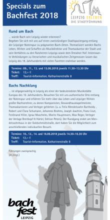 Bach-Rundgänge 2018