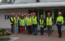Kinesiska forskare besökte Ekokem för att lära om hantering av farligt avfall
