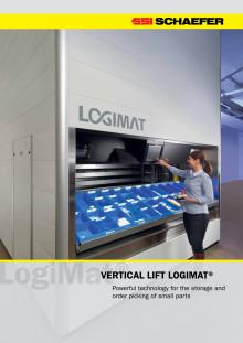 Lagerautomat LogiMat fra SSI Schäfer