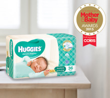 Huggies® picks up gold at Mother & Baby awards