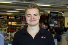 Utmärkelsen Suverän Service: Grattis, Daniel Carlsson...