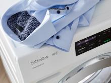Med Miele SingleWash kan även enstaka plagg tvättas med låg förbrukning
