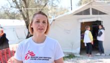 VIDEOINTERVJU: Sjuksköterskan Anna-Lena arbetar i barnkliniken i flyktinglägret Moria i Grekland
