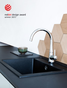Dansk vandhane og bruser vinder prestigefyldt designpris 2017