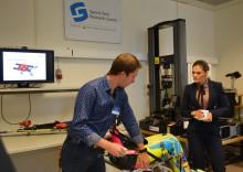 Kronprinsessan Victoria besökte Mittuniversitetet
