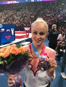 Silver till Jonna Adlerteg i World Challenge Cup i Paris