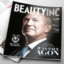 WWD Beauty Inc. giver L'Oréals Adm. direktør Jean-Paul Agon prisen som 'Visionary of the Year'