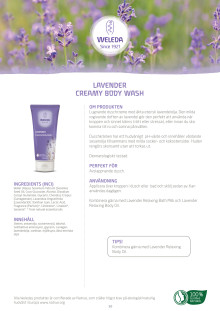 Lavender Creamy Body Wash
