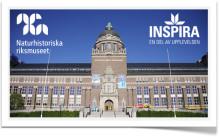 Inspira stärker upplevelsen på Naturhistoriska Riksmuseet!