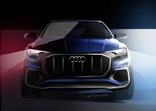 Premiere på Audi Q8 concept i Detroit