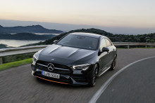 Nye Mercedes-Benz CLA Coupé - Høyteknologisk designperle