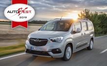 "Opel Combo Life utsedd till ""Best Buy Car of Europe 2019"""