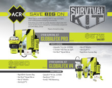 ACR Electronics - METSTRADE: ACR Electronics Announces Release of New Survival Kits at METSTRADE