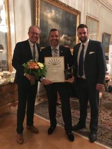 Norrköpingsföretagare blev Årets företagare i Östergötland