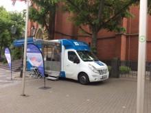 Beratungsmobil der Unabhängigen Patientenberatung kommt am 18. September nach Düsseldorf.
