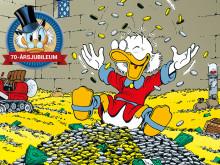 Världens rikaste anka fyller 70 år – firas i Stockholm och bjuder på sina bästa ekonomitips