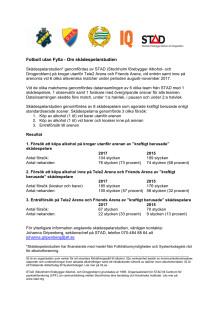 Faktablad - Om skådespelarstudien 2017