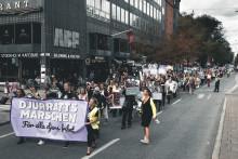 Stor gående demonstration för djurs rättigheter på lördag