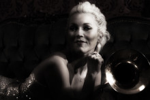 Gunhild Carling och Carling Big Band till Mejeriets Red Hot Club 16 December 2014