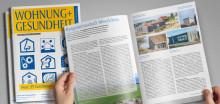 Neu erschienen: WOHNUNG+GESUNDHEIT Ausgabe Nr. 168 / September 2018