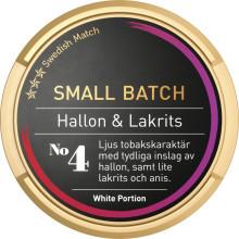 Hallonlakritssnus – ny upplaga av Small batch lanseras