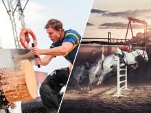 En pulserande försmak av NM i Timbersports och EM i Ridsport