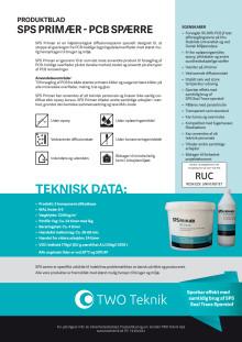 Produktblad SPS Primær PCB Forsegler