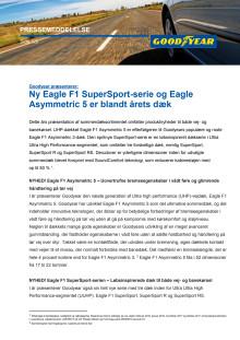 Goodyear præsenterer: Ny Eagle F1 SuperSport-serie og Eagle Asymmetric 5 er blandt årets dæk